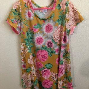 LuLaRoe Scarlett Girls Dress